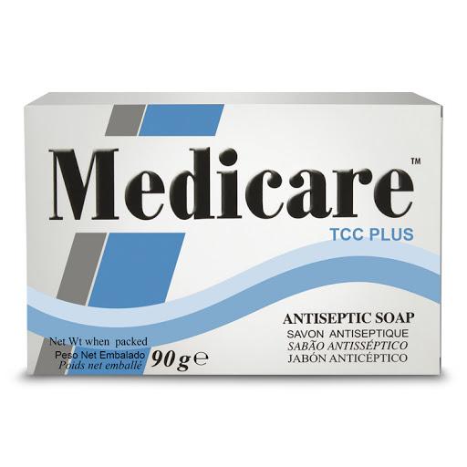 jabon en barra medicare azul 85gr