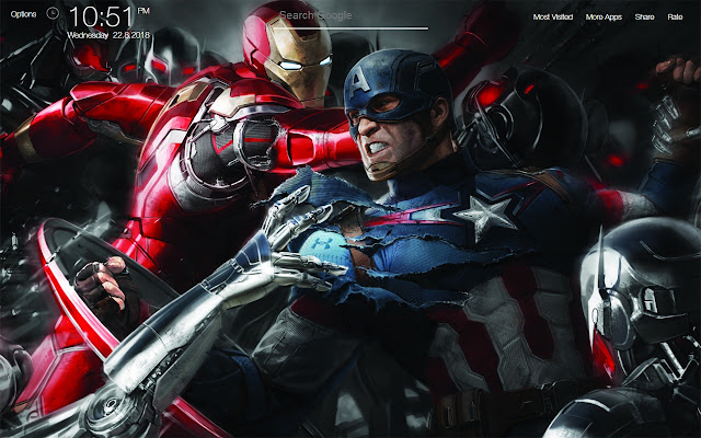 Iron Man Wallpapers Fullhd New Tab
