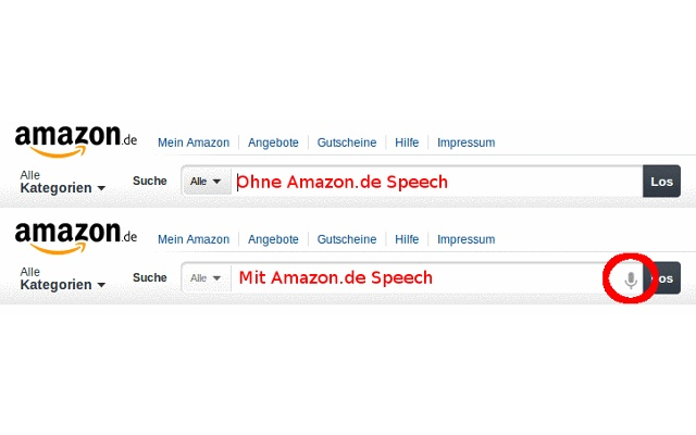 Amazon.de Speech