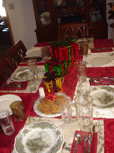 Photo: the dinner table