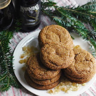 Ginger Cookies with Stout and Molasses