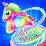 Unicorn Cotton Candy Maker icon