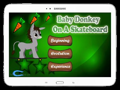 Baby Donkey On A Skateboard screenshot 9