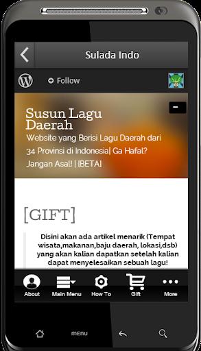 Susun Lagu Daerah Indonesia