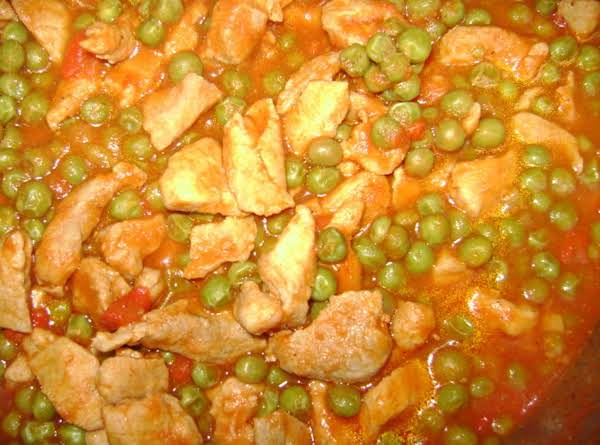 *pork Guisantes*...(peas) A Local Favorite!