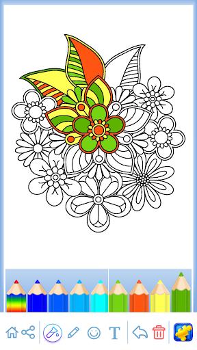 Mandala: Coloring for adults screenshots 9