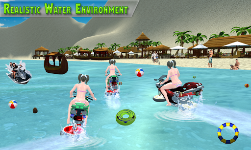 Water Surfer Racing In Moto 1.5 screenshots 4