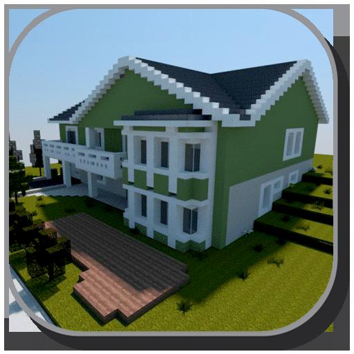 Modern House For Minecraft 1.0 screenshots 1