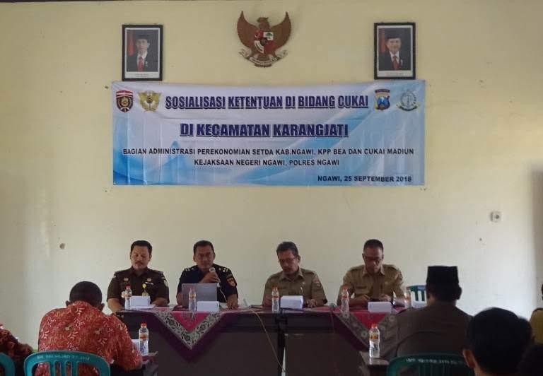 Alokasi Dana Cukai Di Kabupaten Ngawi