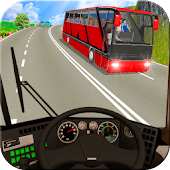 Mountain Bus Real Driving:Hill Climbing Simulator