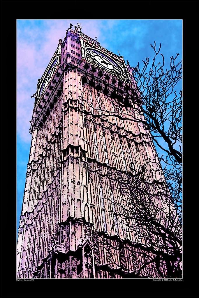 Photo: Westminster Clock Tower, home of Big Ben