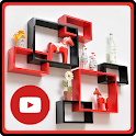 Wall Decoration Designs And Videos icon