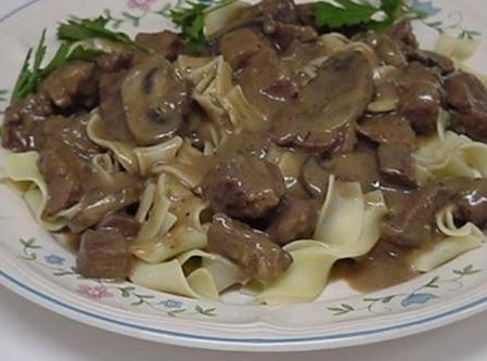 Sherried Beef Recipe