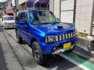 ジムニー JB23W X-Adventure XC(クロスアドベンチャーXC JB23-8型)パールメタリックカシミールブルー初年度登録 2012年(平成24年)4月のカスタム事例画像 Compact Blue さんの2019年08月13日17:37の投稿