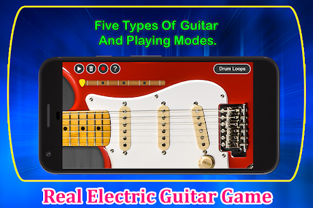Real Electric Guitar Game 1.1 APK Mod Updated 3