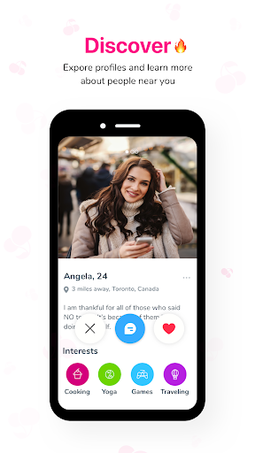Cherish u2013 Chat, Meet and Date 2.10.1 screenshots 4