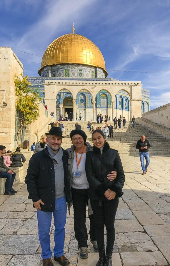 Отзыв о гиде в Израиле. Экскурсия по Храмовой горе. Светлана Фиалкова