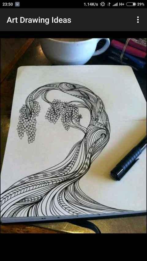Art Drawing Ideas Screenshot