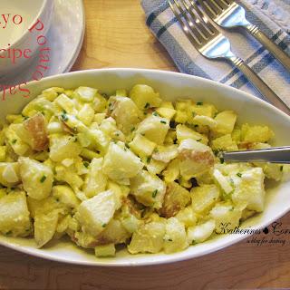 No Mayo Potato Salad Recipe