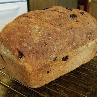 Cranberry-Orange Bulgur Bread