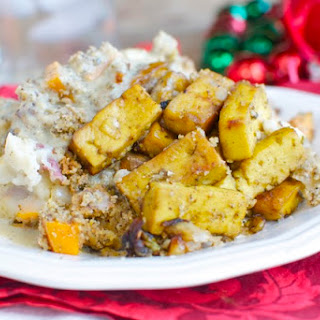 Vegan Holiday Casserole.