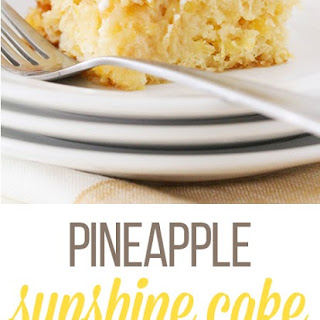Pineapple Sunshine Cake.