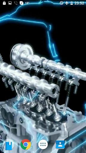 V12エンジンAMG映像を壁紙