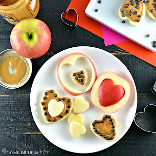Apple Peanut Butter Snacks.