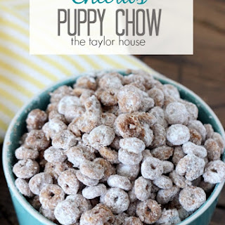 Cheerio Puppy Chow