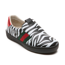 Gucci Zebra Slip On Trainer SLIP ON
