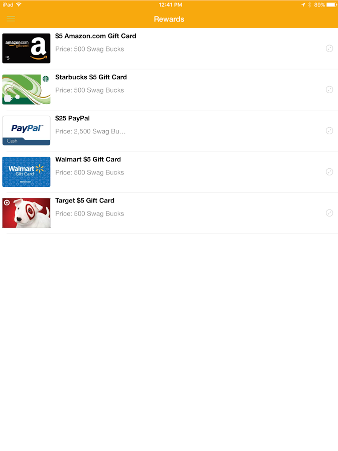 Swagbucks Watch (TV)- screenshot