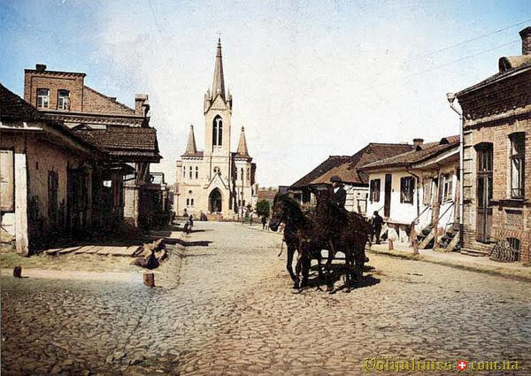1915-1916, Кірха