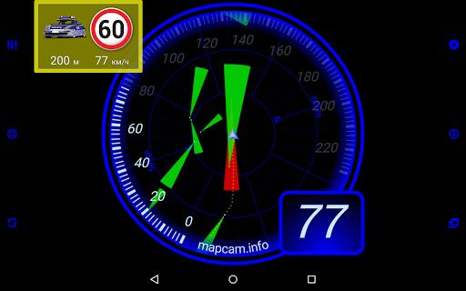 MapcamDroid Speedcam  screenshots 17