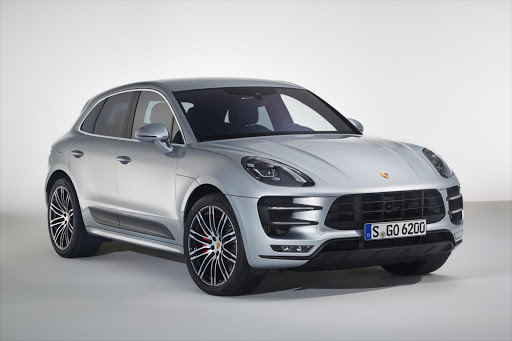 The new Porsche Macan Turbo with Performance Package - front view