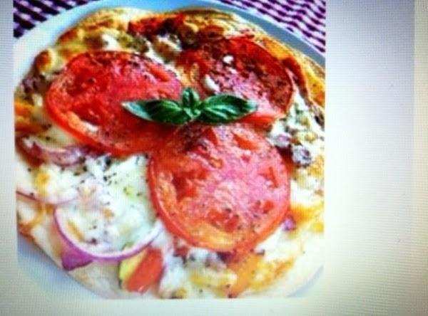 Individual Flour Tortilla Pizza Recipe