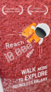Walkr: Fitness Space Adventure Screenshot