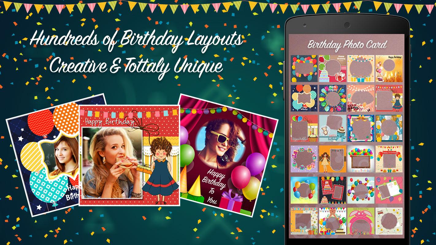 Happy Birthday Photo Collage Android Apps on Google Play – Picture Collage Birthday Card