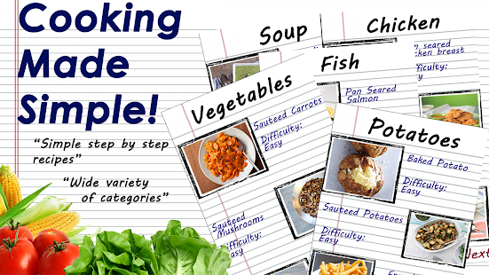 Simply Cooking: Easy Cooking & Recipes! 1