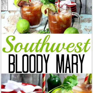 Southwest Bloody Mary with Bacon