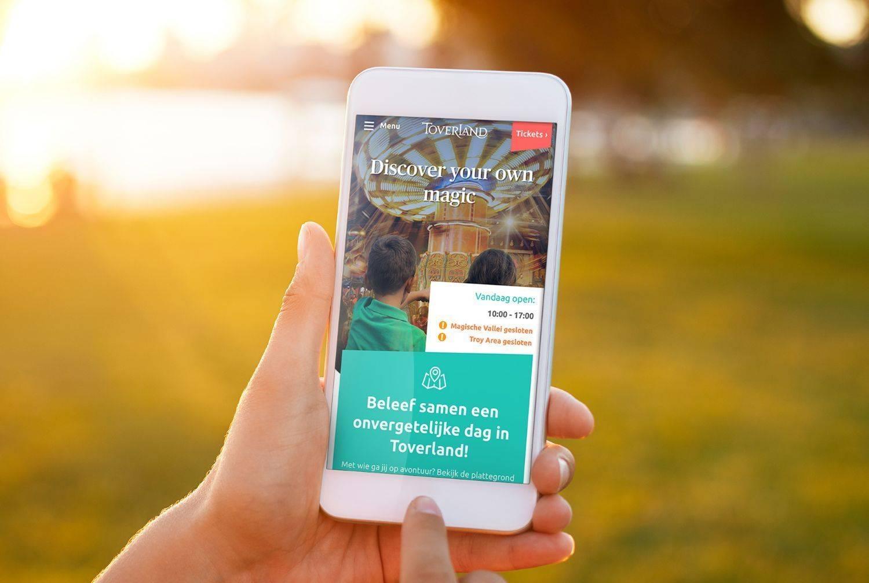 Attractiepark Toverland lanceert nieuwe website