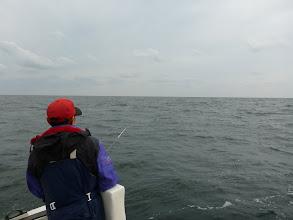 Photo: 思ったより潮が動いているぞー! チャンスかも。
