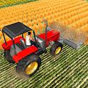 Forage Plow Farming Harvester icon