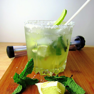 Coconut Agave Mojitos.