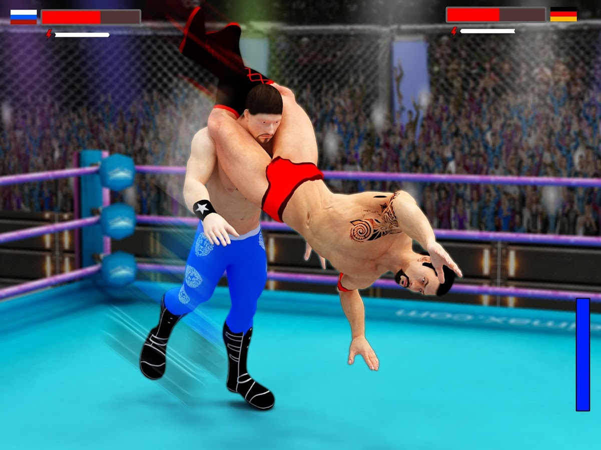 Stars Wrestling Revolution 2017: Real Punch Boxing- screenshot