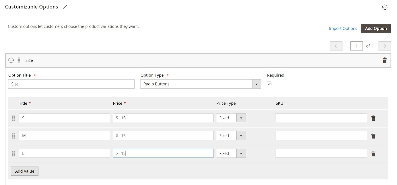 Custom Product Options Templates in Magento 2 | MageWorx Blog