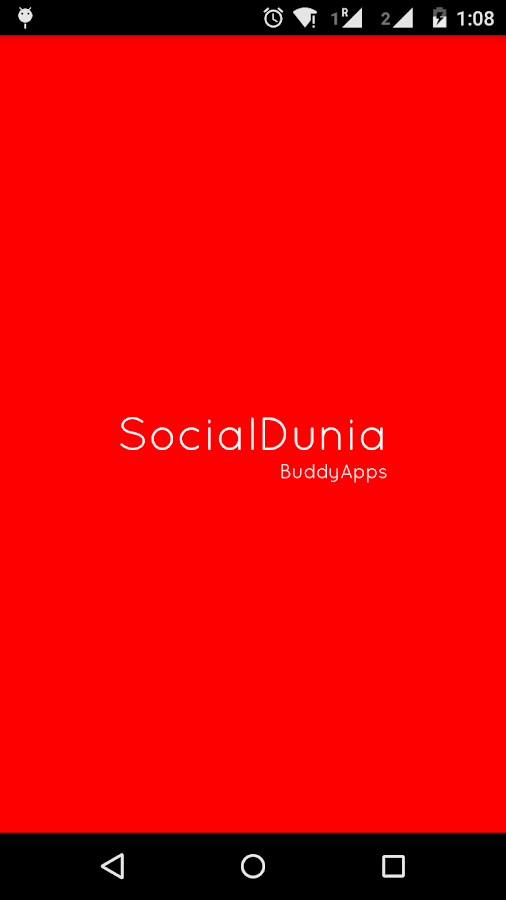 SocialDunia- screenshot