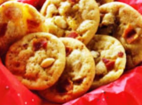 New Peanut  Butter Bacon Cookies