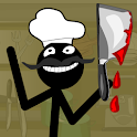 Stickman Bloody Chef icon