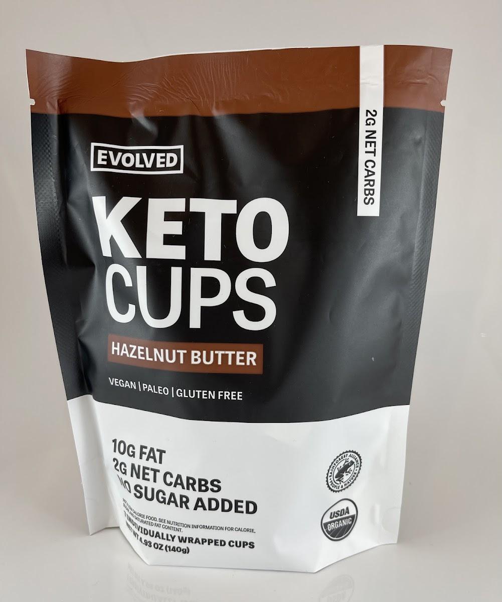 Hazelnut Butter Keto Cups