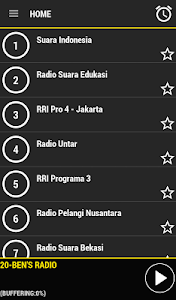 Radio Indonesia screenshot 1